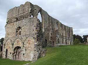 Easby Abbey - Image: Easby Abbey Refectory