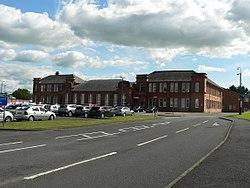 Conselho Ayrshire leste Sede, Kilmarnock.jpg