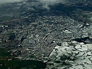 East Kilbride Town in Scotland