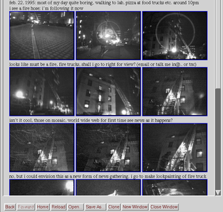 Lifestreaming Act of documenting and sharing aspects of ones daily social experiences online