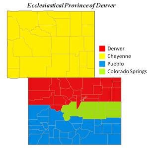 Colorado Karte.Bistum Colorado Springs Wikipedia