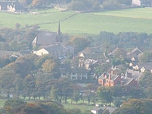 Edgworth - Image: Edgworth from Crowthorn