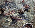 Edvard Diriks - Boats rocking on the Waves - NG.M.00819 - National Museum of Art, Architecture and Design.jpg