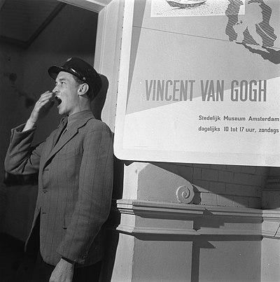 Stedelijk Museum, Amsterdam, 1945