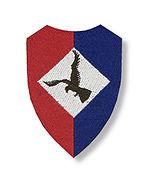 Eerste mouwembleem luchtmobiele brigade