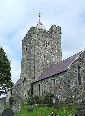 The Church of St. David, Llanddewi-Brefi, Cere...