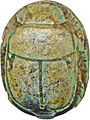 Egyptian - Scarab with the Throne Name of Thutmosis III - Walters 4268 - Back.jpg