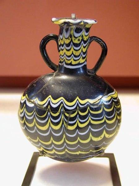 File:Egyptian glass jar.jpg