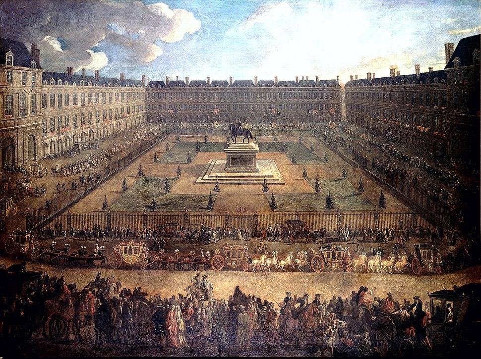 Einzug des Alvise Mocenigo in Paris 1709