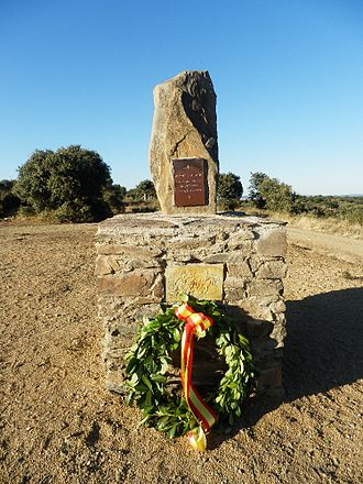 Battle of El Bodón - A monolith built to commemorate the 200th anniversary of the battle
