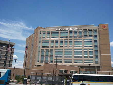 El Paso Children's Hospital at the Medical Center of the Americas El Paso Children's Hospital.jpg