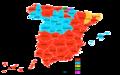 Elecciones generales españolas de 1989 - distribución del voto.png