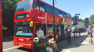 London Buses route 98