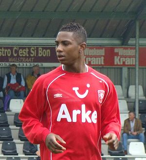 Eljero Elia - Elia with Twente in 2008