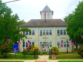 Elmer, New Jersey - Borough Hall