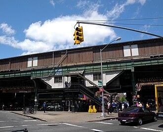 90th Street–Elmhurst Avenue (IRT Flushing Line) - Image: Elmhurst Av 90 St IRT sta jeh