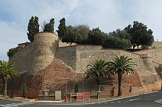 Elne - City wall