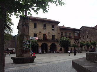Elorrio - Elorrio's central plaza