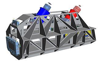ESPRESSO - Image: Engineering rendering of the ESPRESSO instrument