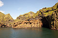 Entrance to the harbour of Vestmannaeyjar from the ferry Herjolfur-3.jpg