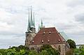 Erfurt, Severikirche vom Petersberg gesehen-002.jpg