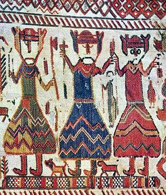 Margaret Fredkulla - Three kings on the contemporary Skog tapestry have been thought by historians Lagerqvist and Åberg possibly to allude to the Scandinavian summit meeting where Margaret the Colleen of Peace was betrothed to the Norwegian king.