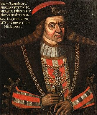 Thirteen Years' War (1454–1466) - Eric II, Duke of Pomerania