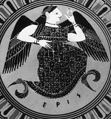 Eris, the Greek goddess of discord