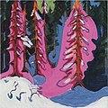 Ernst Ludwig Kirchner - Am Waldrand - 1935-36.jpg