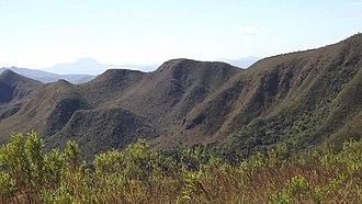 Serra do Rola-Moça State Park - Image: Escarpas da serra do rola moça