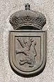 Escudo de armas do concello de Silleda na Casa de Cultura. Galiza.jpg