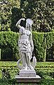 Estàtua que representa a Amèrica, jardí de Montfort de València.JPG
