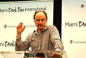 Eugenides, Jeffrey -Miami Book Fair.JPG