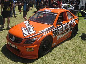 """Aussie Racing Cars - A """"Euro GT""""-bodied Aussie Racing Car."""