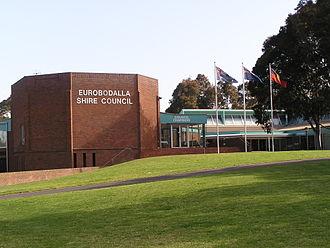 Eurobodalla Shire - Offices of the Eurobodalla Shire Council at Moruya.