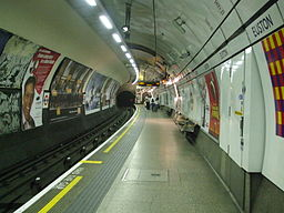 Euston tube stn Northern Charing X branch northbound
