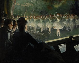Everett Shinn - The White Ballet