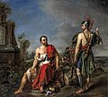 Exiled Gaius Marius sitting among the ruins of Carthage by Joseph Kremer.jpg