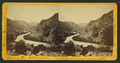 Exit of the Arkansas from the mts. (mountains), Col. Ter, by Chamberlain, W. G. (William Gunnison).png