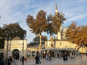 Eyüp Sultan Mosque - Image: Eyüp Sultan Mosque 69