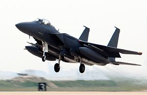 F-15K ROKAF takes off from Kunsan AB 2009.jpg