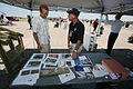 FEMA - 31189 - FEMA Mitigation worker talking to Kansas resident at an airshow.jpg