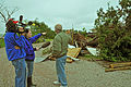 FEMA - 44282 - A resident speaks with the press in Oklahoma.jpg