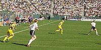 Sideline view of the 2003 FIFA Women's World Cup Final