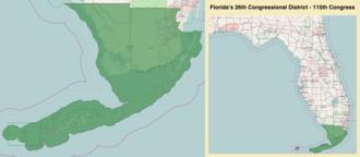 Florida's 26th congressional district - Florida's 26th congressional district - since January 3, 2017