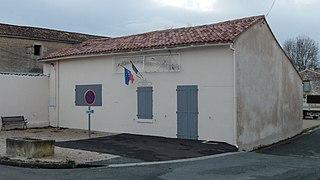 Blanzay-sur-Boutonne Commune in Nouvelle-Aquitaine, France