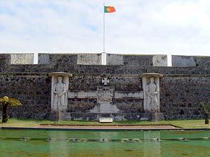 São José (Ponta Delgada) - The Fort of São Brás guarding the port of Ponta Delgada.
