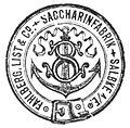 Fabrikmarke Saccharinfabrik Fahlberg-List1894.jpg
