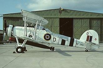 Royal Navy Historic Flight - Image: Fairey Swordfish Mk 3, UK Navy AN1162766