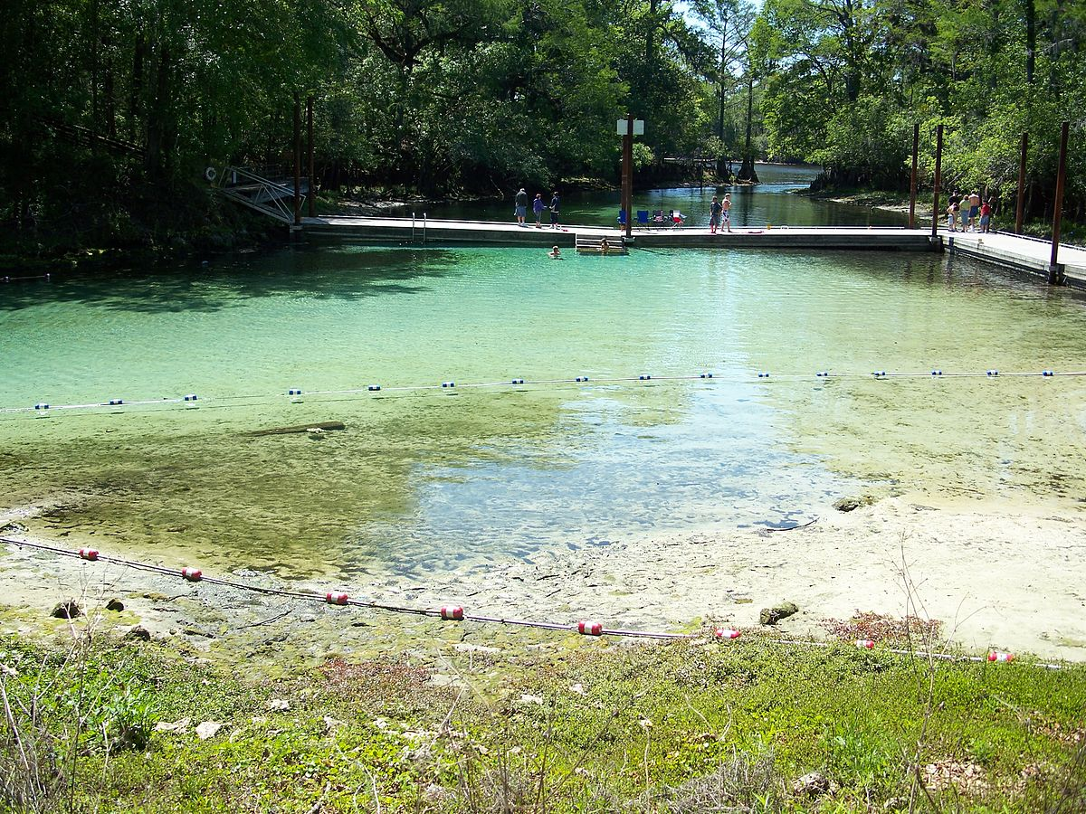 Beautiful Clear Waters of Fanning Springs